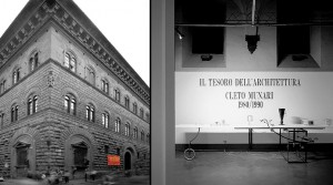 """Mostra """"Il Tesoro dell'Architettura – Cleto Munari 1980-1990"""""""
